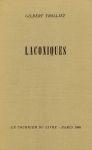 Laconiques