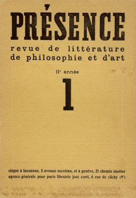 N° 1, 1933