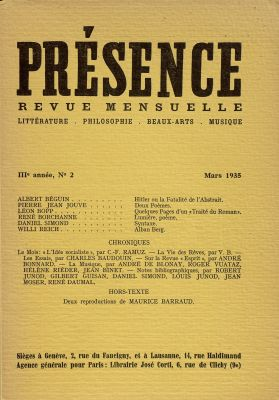 N° 2, mars 1935