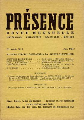 N° 5, juin 1935