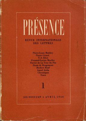 N° 1, avril 1946