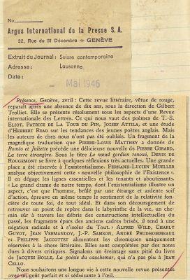 Mai 1946