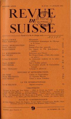 N° 9, 30-31 juin 1952