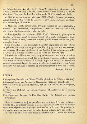 N° 4, septembre 1938 de Georges Nicole