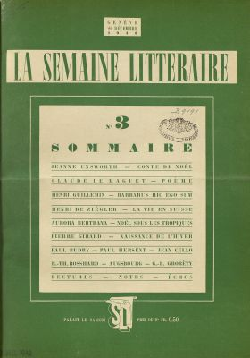 N° 3, 26 décembre 1942