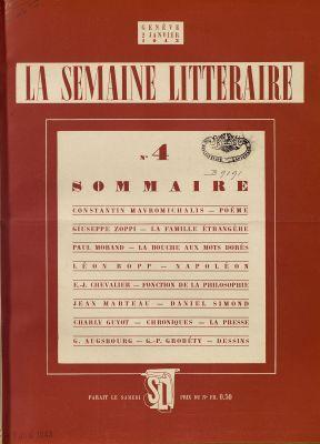 N° 4,2 janvier 1943