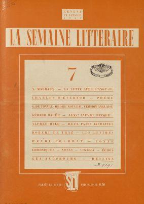 N° 7,23 janvier 1943