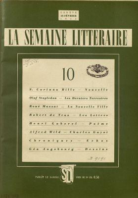 N° 10, 13 février 1943